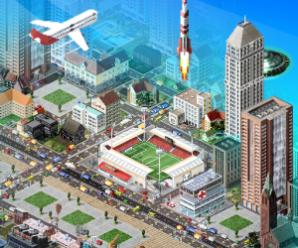 TheoTown City Simulation (MOD неограниченно бриллиантов)