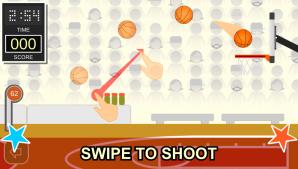 Swipe Shootout: Street Basketball (Мод Открытая игровая площадка)